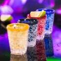 Lot de 4 verres à shot à double paroi réfrigérante
