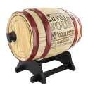 Tonneau en bois pour la distribution de vin en bois 3 litres