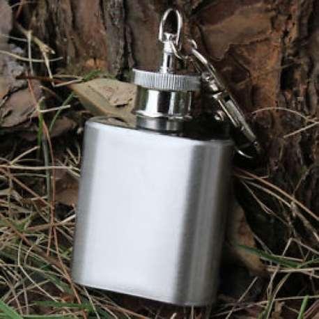 Mini flasque de 30 ml avec porte-clés