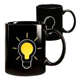 Mug thermique ampoule éclairée thermo-réactifs tasse thermo-changea