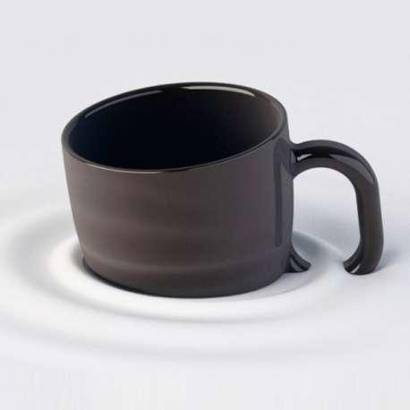 Tasse effet fondu mug sable mouvant