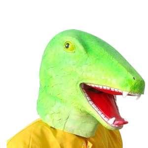 Masque de déguisement dinosaure