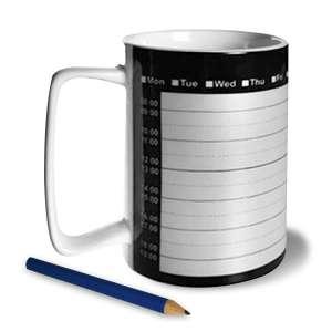 Mug planning tasse rappel des RDV