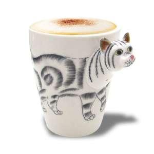 Mug tête de chat en 3D tasse animal
