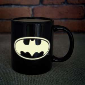 Mug Batman avec logo phosphorescent