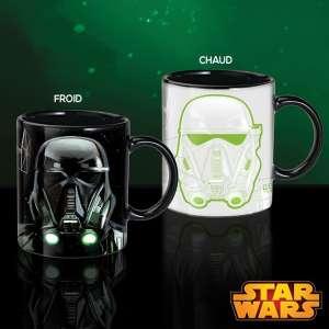 Tasse thermo-réactive Dark Vador et Stormtrooper mug Star Wars