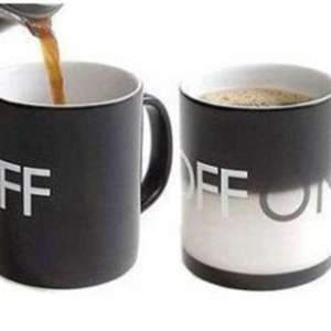 Tasse thermique change-couleur On/Off mug thermo-changeante