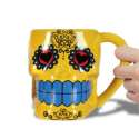 Mug en forme de tête de mort tasse mexicaine
