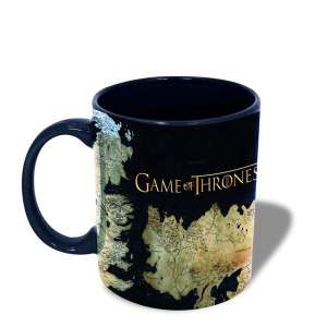 Mug Game of Thrones tasse cartes de Westeros Essos