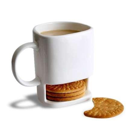 Mug range biscuit tasse avec range gateau