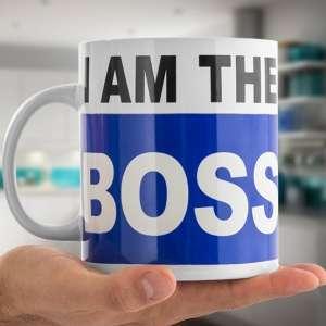Tasse XXL « Je suis le chef » mug géant