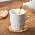Mug biche avec poignée en queue d'animal tasse céramique