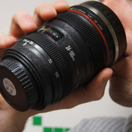 Tasse 40 cl apparence objectif appareil photo mug