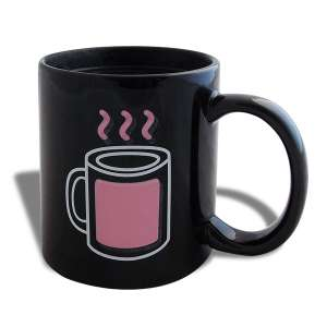 Mug thermo-réactive tasse thermo-changeante fumante