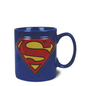 Mug en céramique tasse Superman en relief