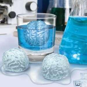 Moule en silicone chocolat et bac à glaçon cervelle