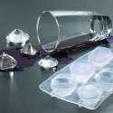 Moule bac à glaçons et chocolats en silicone en forme diamants