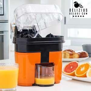 Appareil à double presse-agrumes électrique jus d'orange facile
