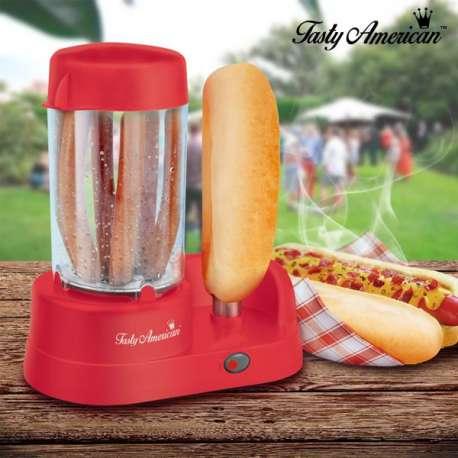 Machine pour préparer des Hot Dogs Tasty American