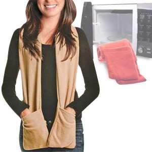 Echarpe à poches à préchauffer a la micro-onde
