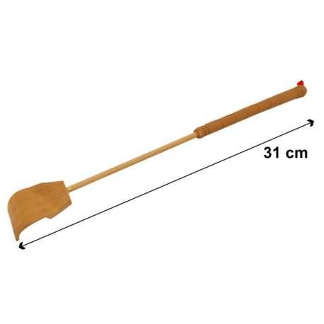 Grattoir télescopique en bois et PVC