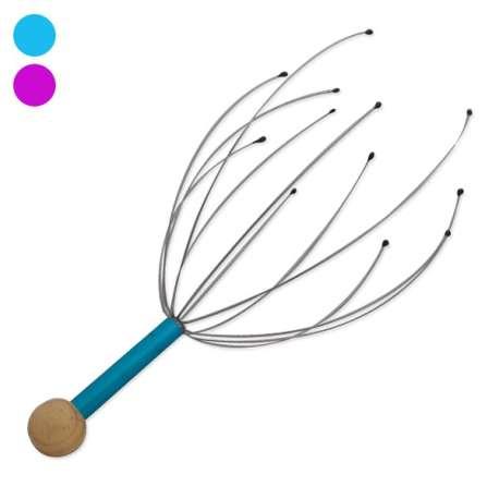 Masseur de tête coloré en métal zen