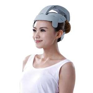 Casque de massage pour tête éléctrique et USB