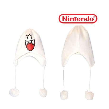 Bonnet de ski fantôme Boo Nintendo Mario