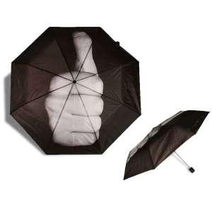 Parapluie pouce en l'air pouce levé