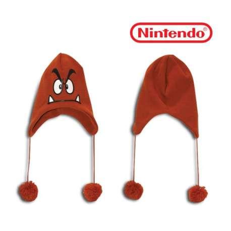 Bonnet de ski marron Goomba Nintendo Mario