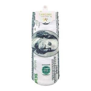 Chaussettes en forme de billets de 100 dollars