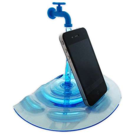 Support fontaine pour smartphone