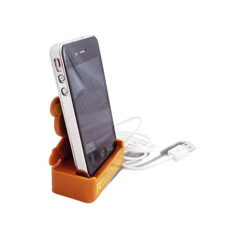 station de recharge iphone 4 dock chargeur usb ourson. Black Bedroom Furniture Sets. Home Design Ideas