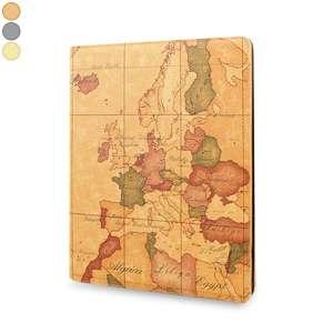 Etui iPad iPad 1, iPad 2, iPad 3 map monde carte du monde