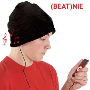 Bonnet en laine avec écouteurs et microphone intégrés
