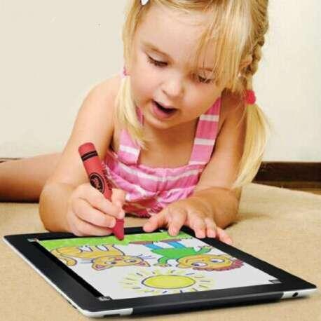 stylet crayon stylo pour cran tactile totalcadeau. Black Bedroom Furniture Sets. Home Design Ideas