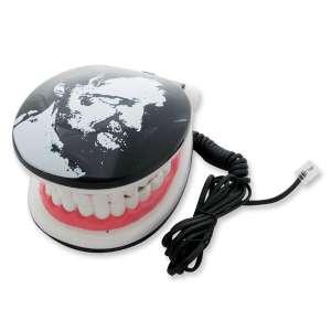 Téléphone fixe filaire dentier bouche