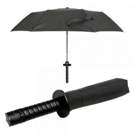 Parapluie manche épée de samurai sabre