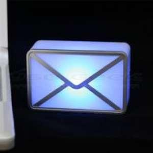 Enveloppe Alerte email USB : avertisseur réception d'e-mail lumineux