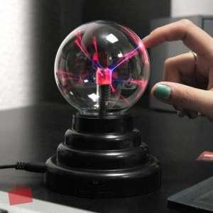 Lampe USB lumière électrique plasma USB éclairs veilleuse