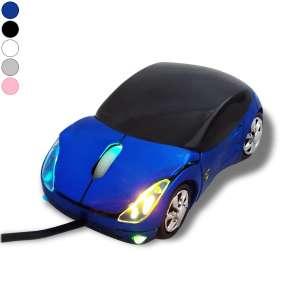 Souris informatique optique USB forme voiture