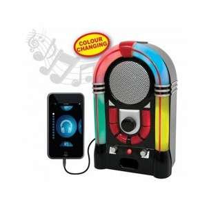 Haut-parleur en forme de Jukebox Rétro éclairage multicolore
