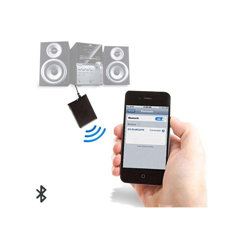 r cepteur audio bluetooth pour smartphone totalcadeau. Black Bedroom Furniture Sets. Home Design Ideas