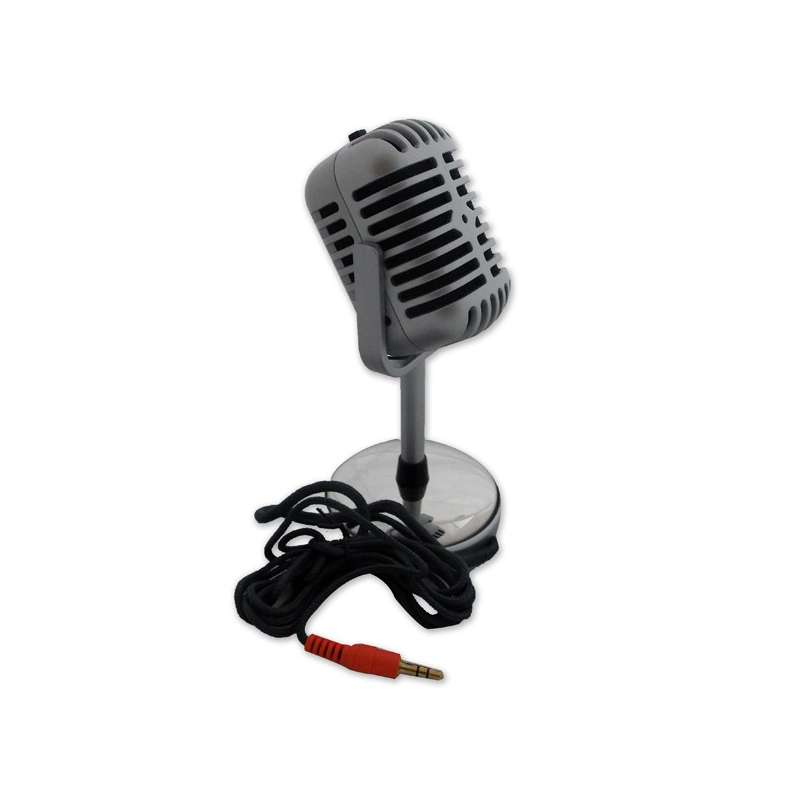 micro vintage prise jack microphone pour ordinateur totalcadeau. Black Bedroom Furniture Sets. Home Design Ideas