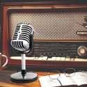 Micro vintage prise jack microphone pour ordinateur