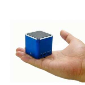 Mini enceinte haut-parleur cube MP3 / SD / Radio / USB