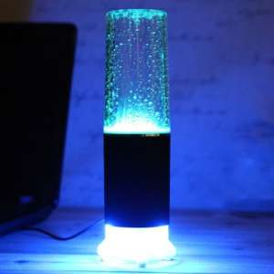 Haut parleur fontaine d'eau touch sensitive led tactile