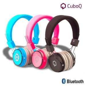 Casque audio et micro sans fil bluetooth CuboQ