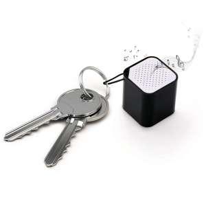 Enceinte miniature haut-parleur de poche Bluetooth cube porte-clés