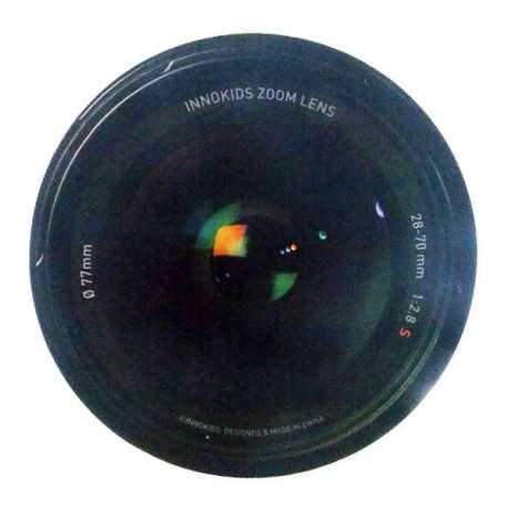 Tapis de souris informatique objectif appareil photo photographique
